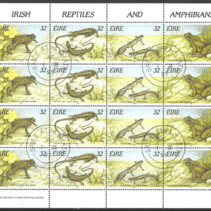 SG 965-8 Sheetlet. Ireland Stamps