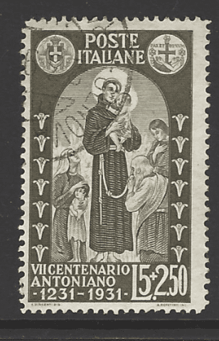 SG 310, Italy Stamp