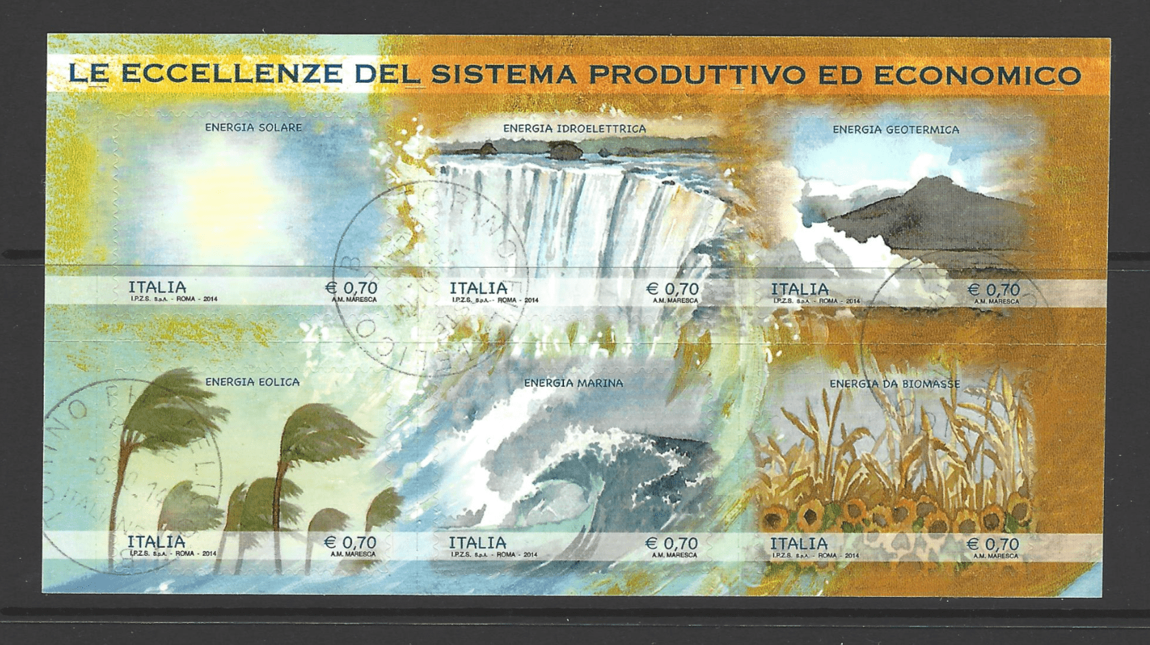 MS 3541, Italy Stamp