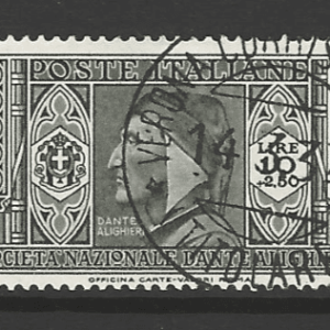 SG 325, Italy Stamp