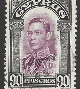 SG 162, Cyprus stamps