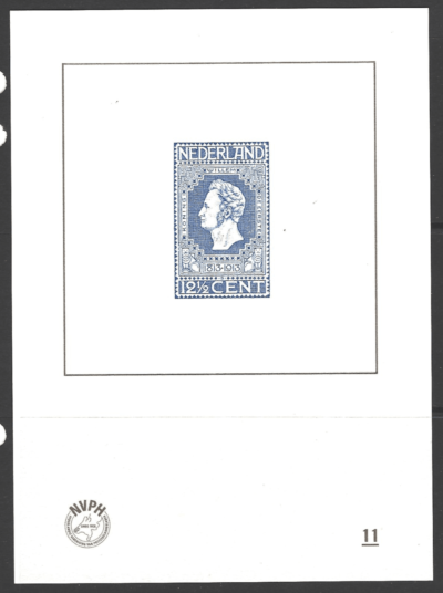 NVPH Catalogue, Blue Print Number II, Unmounted Mint, Netherlands Stamp