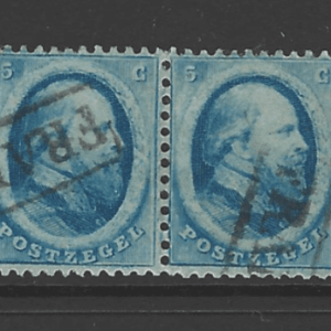 SG8, in a pair, Expertised. Netherland Stamps