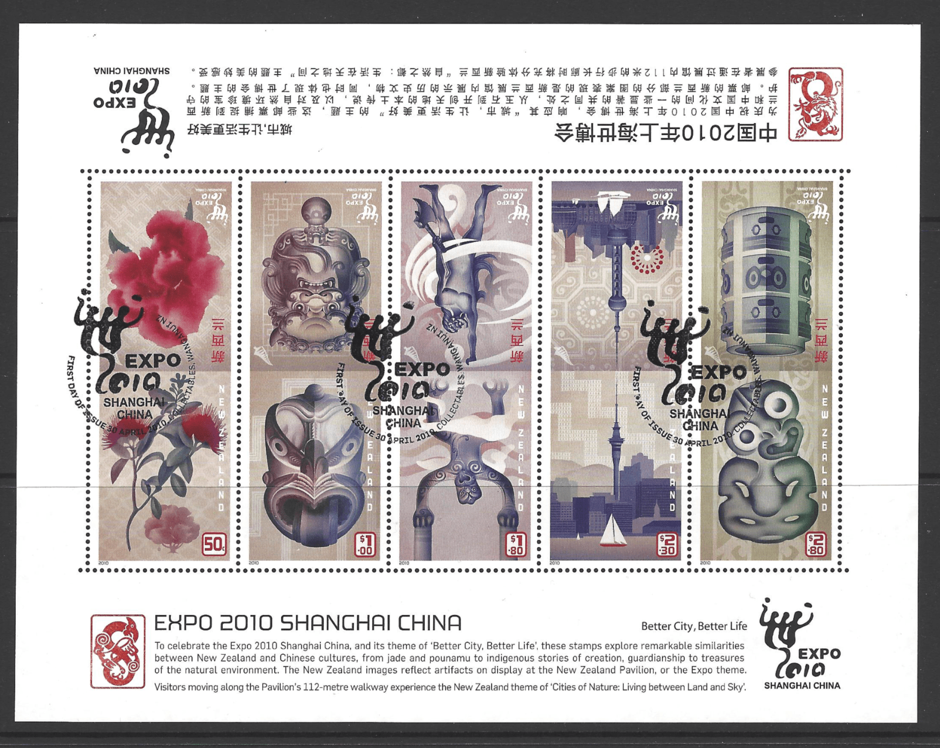 SG MS3210, New Zealand Stamps