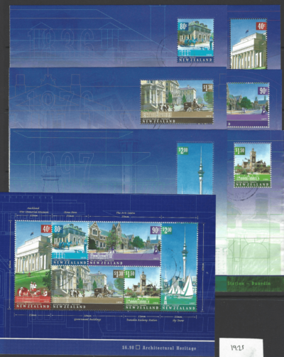 SG 2484-9, in 7 Mini Sheets, New Zealand Stamps