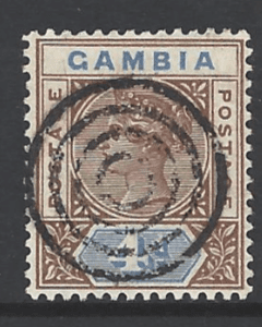 SG42, Gambia Stamp