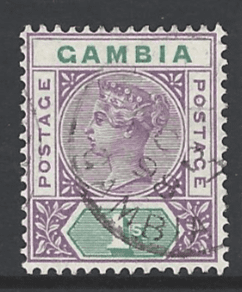 SG44 Gambia stamp