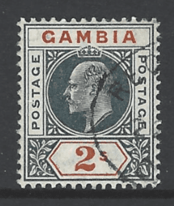 SG54, Gambia Stamp
