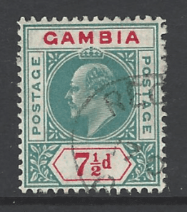 SG 65, Gambia stamp