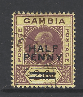SG 69, Gambia stamps