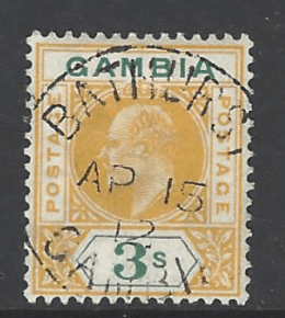 SG 85, Gambia Stamps