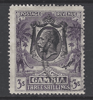 SG 138, Gambia Stamps