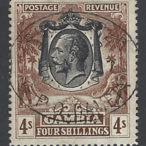SG 140, Gambia Stamps
