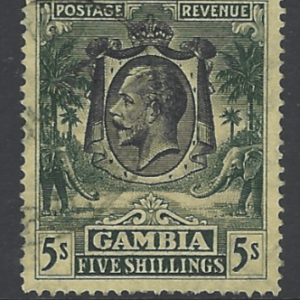 SG 141, Gambia stamps