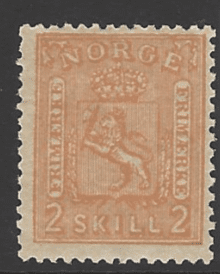 SG 24, Unmounted Mint, Norway Stamp