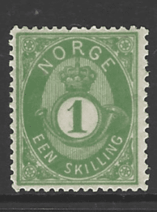 SG 33, Mounted Mint, Norway Stamp