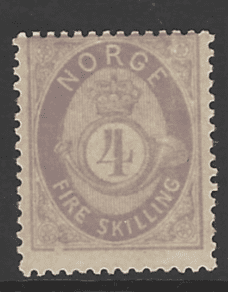 SG 42, Mounted Mint, Norway Stamp