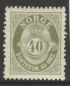 SG 151, Mounted Mint, Norway Stamp