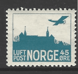 SG 199a, Mounted Mint, Norway Stamp