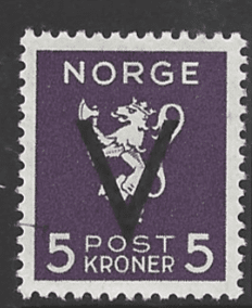 SG 320B, Mounted Mint, Norway Stamp