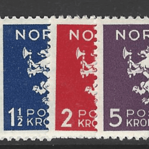 SG 271-4, Mounted Mint, Norway Stamp