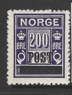 SG 212, Mounted Mint, Norway Stamp