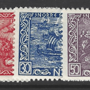 SG 324-9, Mounted Mint, Norway Stamps