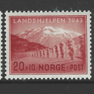SG 357-9, Unmounted Mint, Norway Stamps