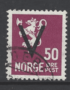 SG 315a Expertised. Norway Stamp