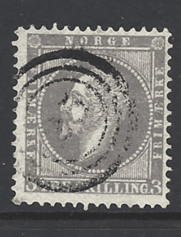 SG 6, Norway Stamps