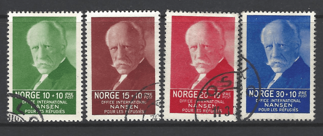 SG 235-8, Norway Stamps