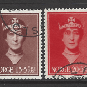 SG 267-70, Norway Stamps