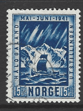 SG 295, Norway Stamps