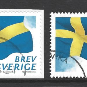 New Issue, Coil Stamp and Stamp from Sheetlet. Sweden Stamps