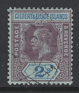 SG 21, Gilbert and Ellice Islands Stamps