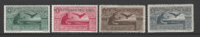 Dodecanese SG 52-55, Mounted Mint. Italian Colonies Stamps