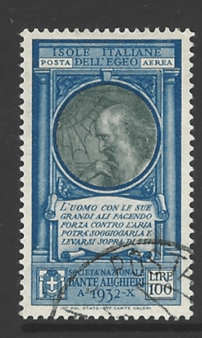SG Dodecanese 88, Italian Colonies Stamps