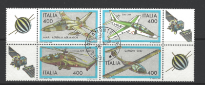 SG 1792a, Italy Stamps, transport Stamps, Aeroplane Stamps