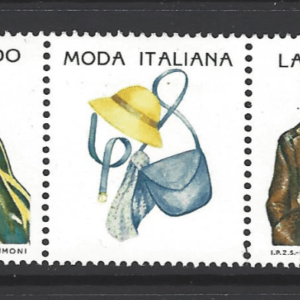 SG 1937a, Italy Stamps, Fashion Stamps, Moda Italiana
