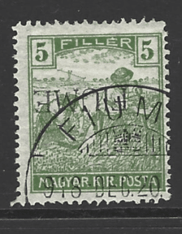 SG 3, Inverted Overprint, Fiume Stamps