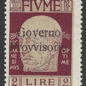 SG 174, Mounted Mint, Fiume Stamps