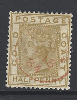 SG 9, Gold Coast Stamps