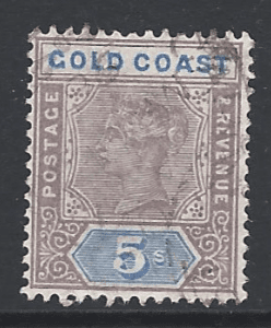 SG 22, Gold Coast Stamps