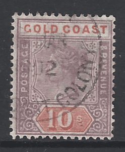 SG 23, Gold Coast Stamps