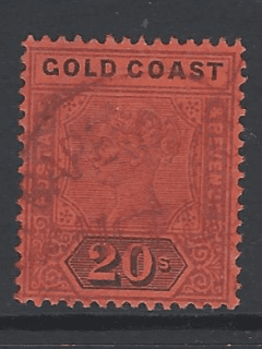 SG 25, Gold Coast Stamps