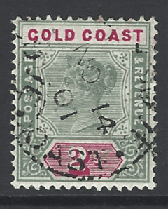 SG 32, Gold Coast Stamps