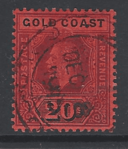 SG 84, Gold Coast Stamps