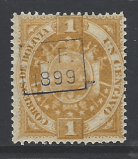SG 85, Mounted Mint, Bolivia Stamps