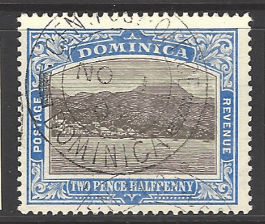 SG 40, Dominica stamps