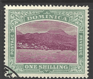 SG 43, Dominica Stamps